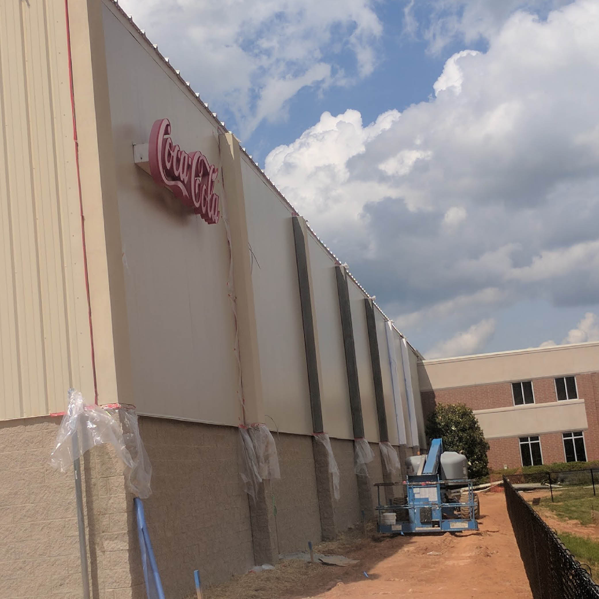 Coca Cola Commercial Facility Stucco Project
